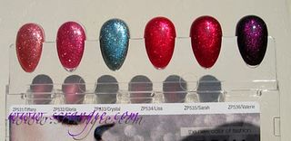Scrangie - nail polish - Zoya - Fire and Ice