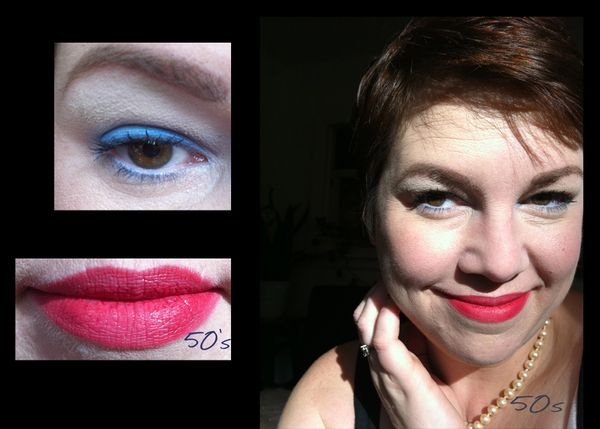 Blue Eye Shadow A Visual History Bsb Beauty News Makeup Swatches And Pictures Nail Polish