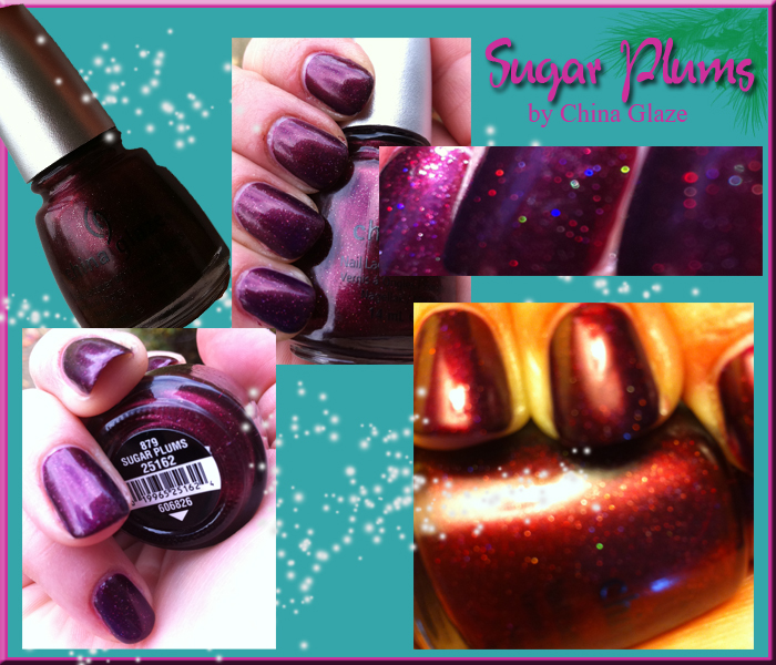 Sugar Plums China Glaze nail polish