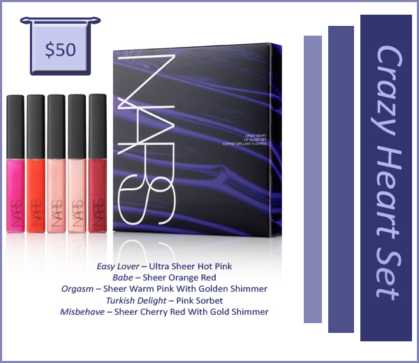 Crazy Heart Set NARS copy