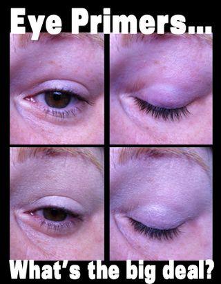 Eye primers makeup