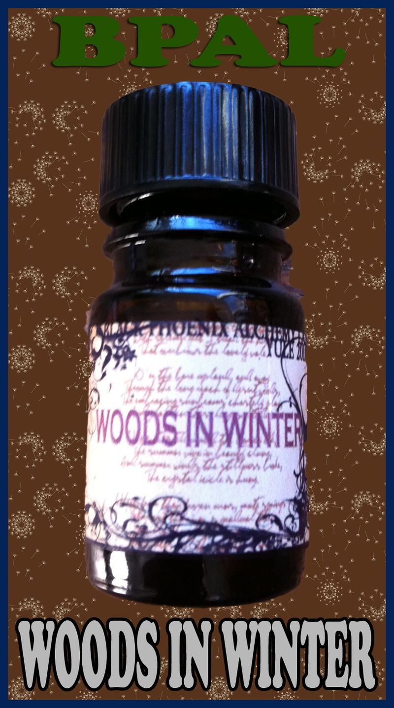WOODS IN WINTER 2010 BPAL