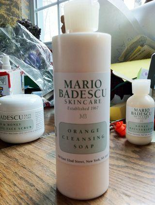 Mario Badescu Orange Cleansing Soap