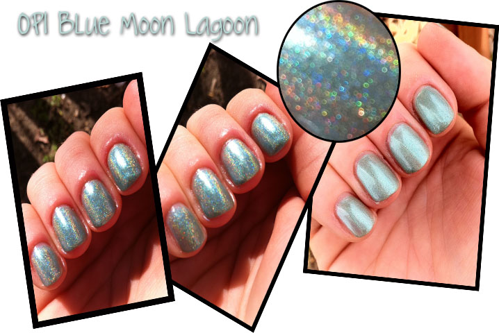 OPI Blue Moon Lagoon m
