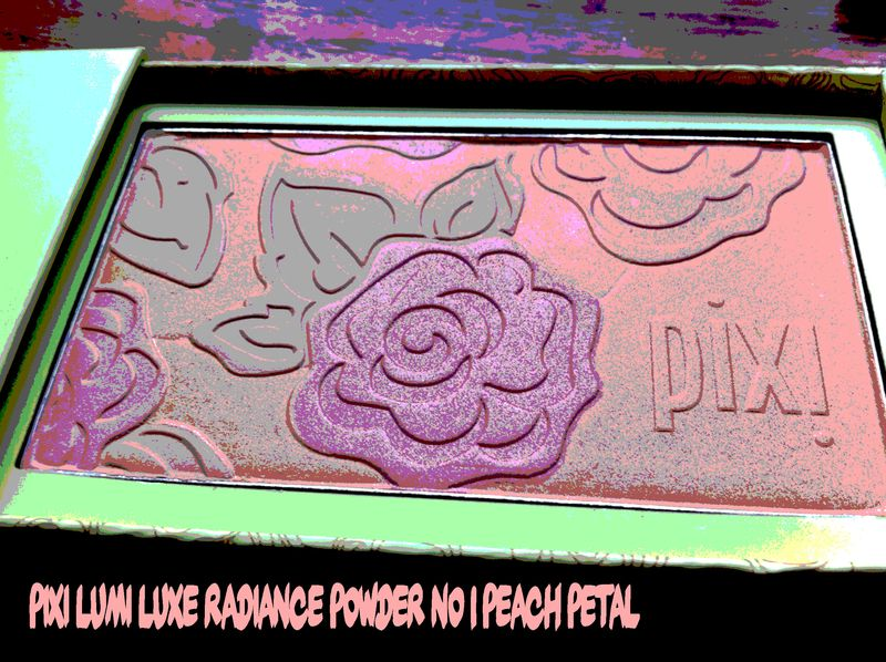 Pixi lumi luxe radiance powder no 1 peach petal l