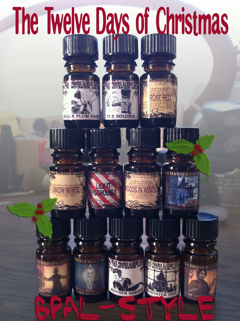 The Twelve Days of Christmas BPAL