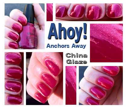 From China Glaze's Anchor's