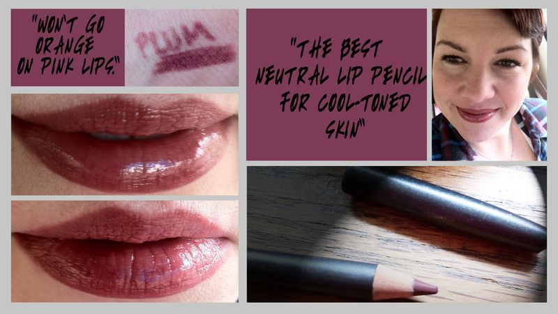Makeup gotta have it!MAC lip pencil in plum h