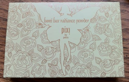Pixi lumi luxe radiance powder no 1 peach petal