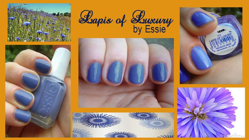 Lapis of Luxury by Essie  swatches and pictures a