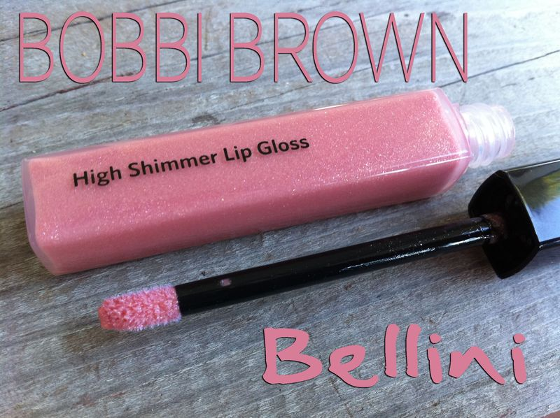 Bobbi brown-high shimmer lip gloss-bellini-pink-swatches-pictures-review-lead