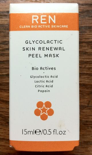 REN Glycolactic Skin Renewal Peel Mask mini