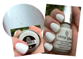 China glaze snow nail polish b