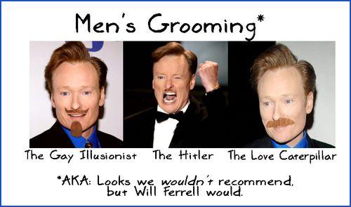 BSB Men's Grooming Special Report! #beardpocalypse Will Ferrell Conan OBrien f