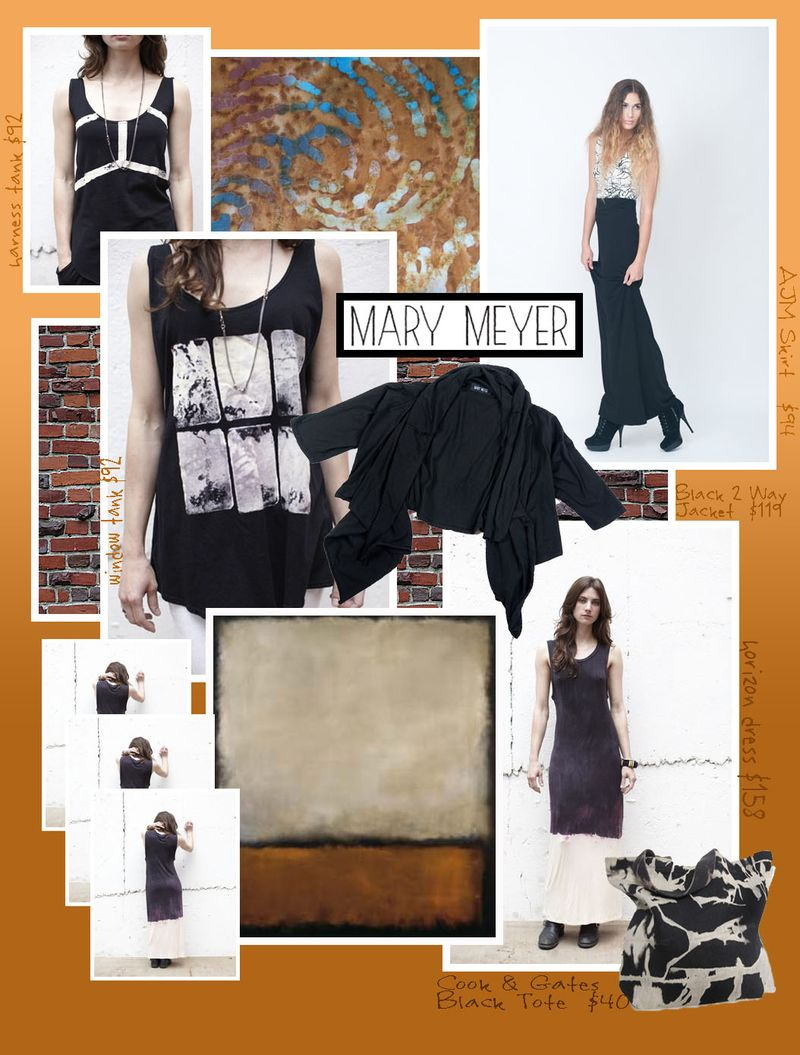 Mary meye clothing obsession tye die 80s flashback gothic amazingness