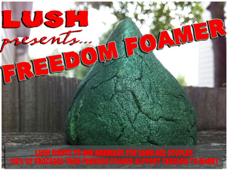 LUSH Freedom Foamer review and pictures